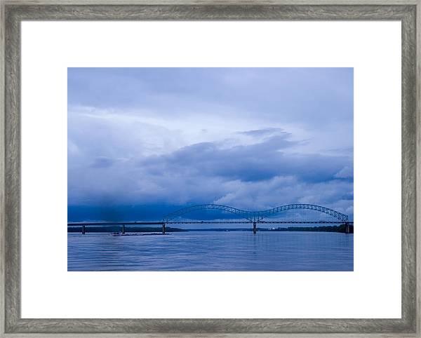 Coming Storm Framed Print