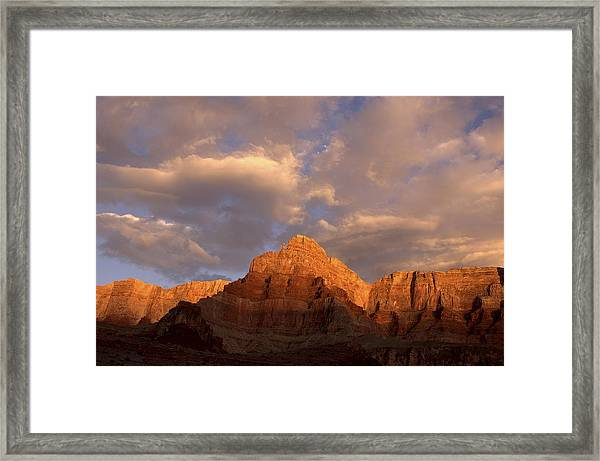 Commanche Point  Grand Canyon National Park Framed Print