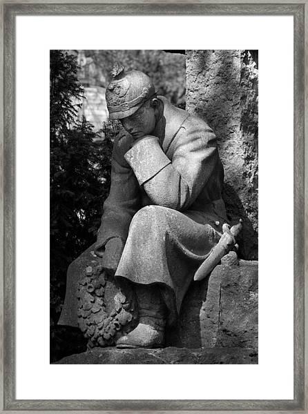 Commemoration Framed Print