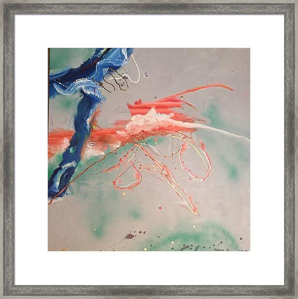 Commotion Framed Print
