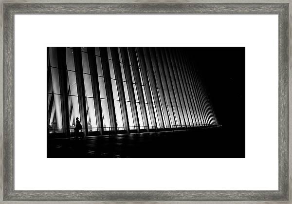 Commuter Like You And I Framed Print
