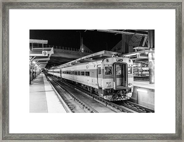 Commuter Rail Framed Print
