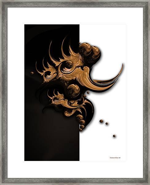Complex Formation Framed Print