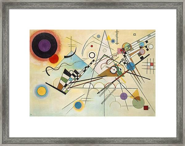 Composition Viii Framed Print