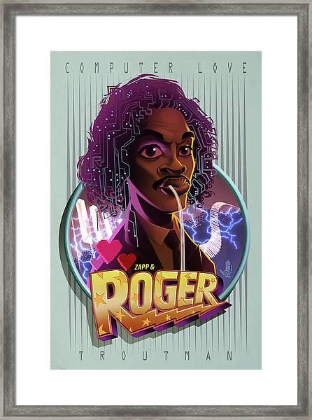 Computer Love Framed Print