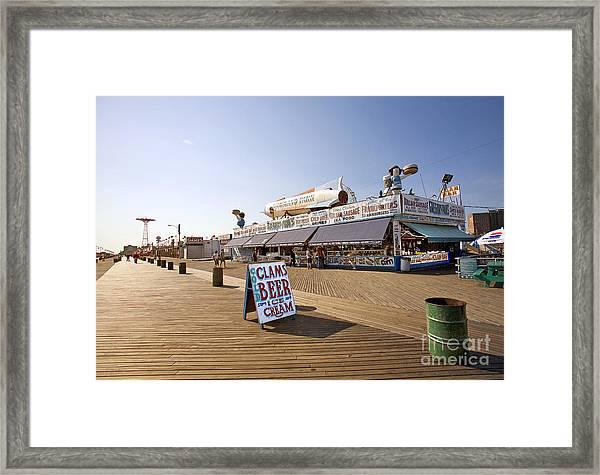 Coney Island Memories 7 Framed Print