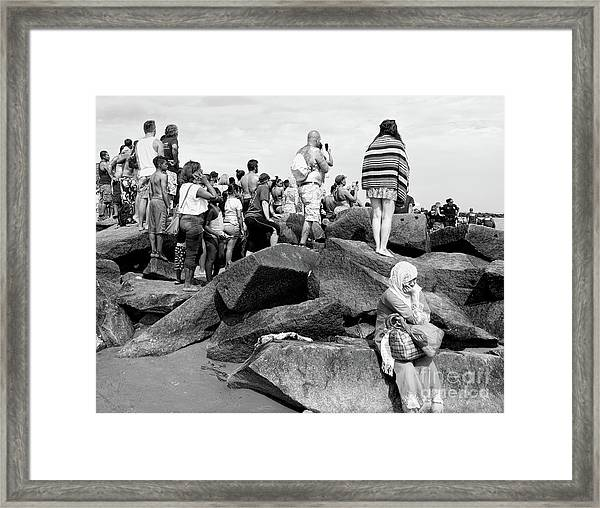 Coney Island, New York  #234972 Framed Print