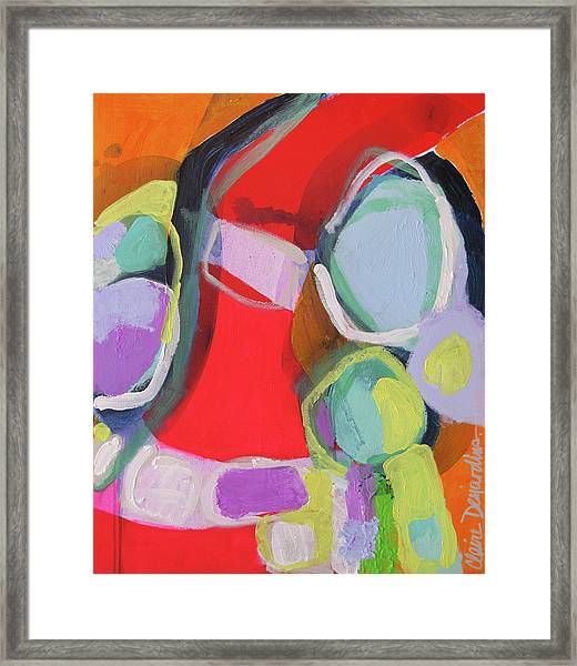 Conference Call Framed Print
