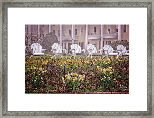 Congress Hall Spring Framed Print