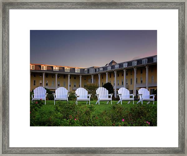 Congress Hall Framed Print