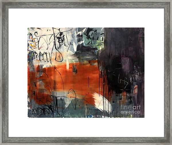 Conjuguer Framed Print