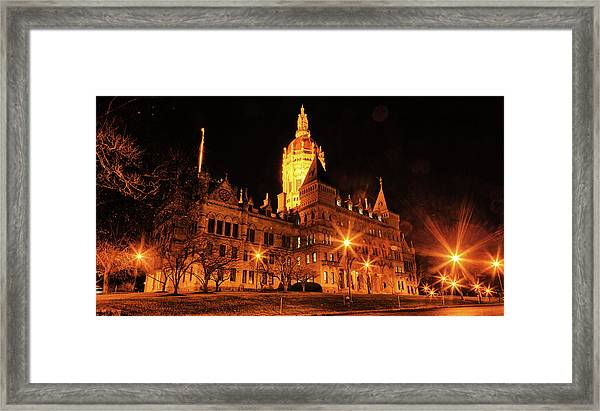 Connecticut State Capitol Framed Print