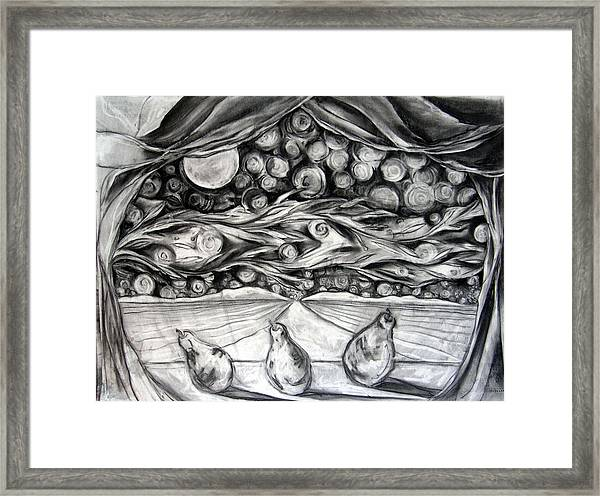 Consequence Beyond The Horizon - Study Framed Print