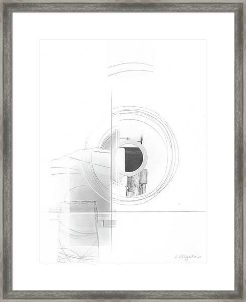 Construction No. 3 Framed Print