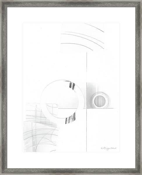 Construction No. 1 Framed Print