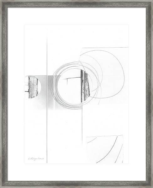 Construction No. 4 Framed Print