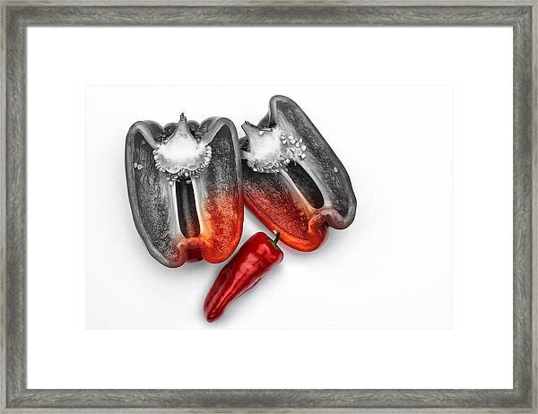 Contagious Framed Print