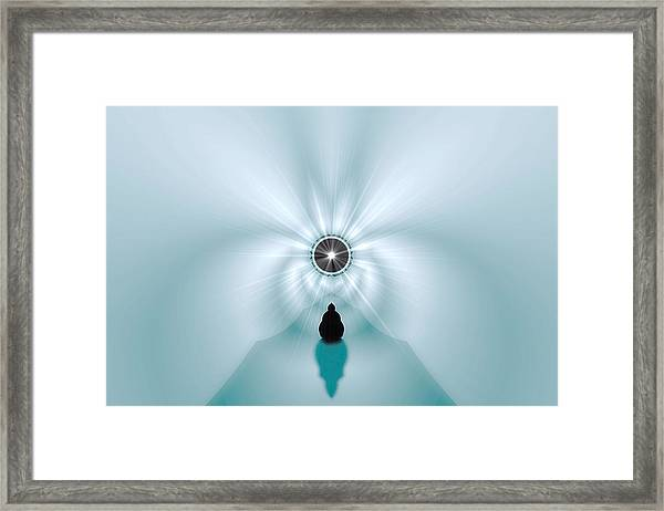 Contemplation Framed Print