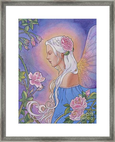 Contemplation Of Beauty Framed Print