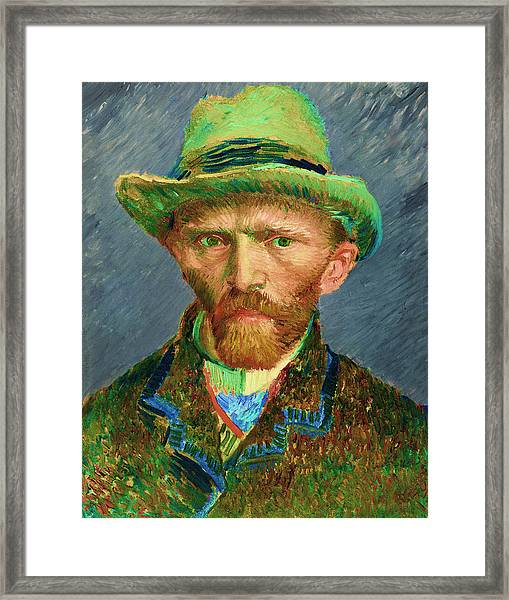 Contemporary 2 Van Gogh Framed Print