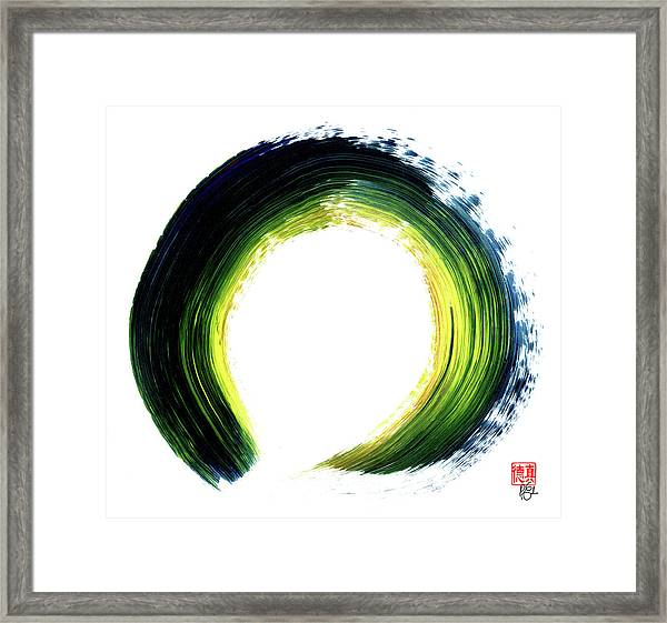 Continually Creating Itself Framed Print