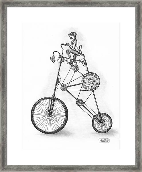 Contraption Framed Print