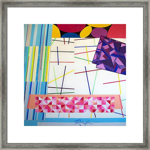 Controlled Chaos Framed Print