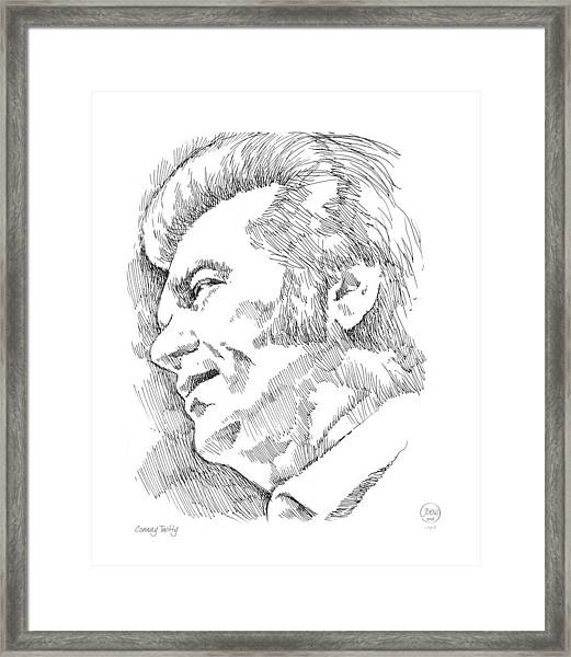 Conway Twitty Framed Print