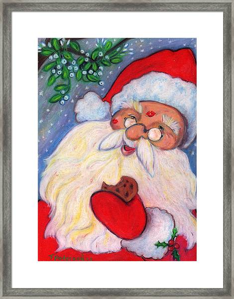 Cookies And Kisses Framed Print