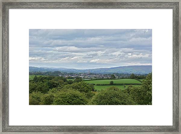 Cookstown Viewed From Tullyhogue Fort Framed Print