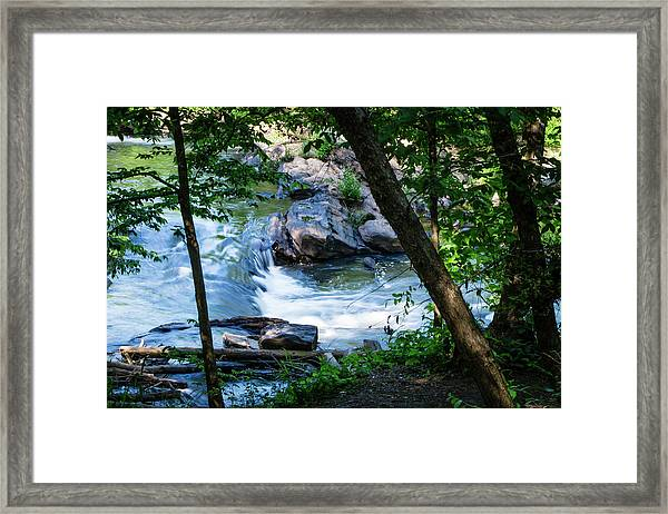 Cool Mountain Stream Framed Print
