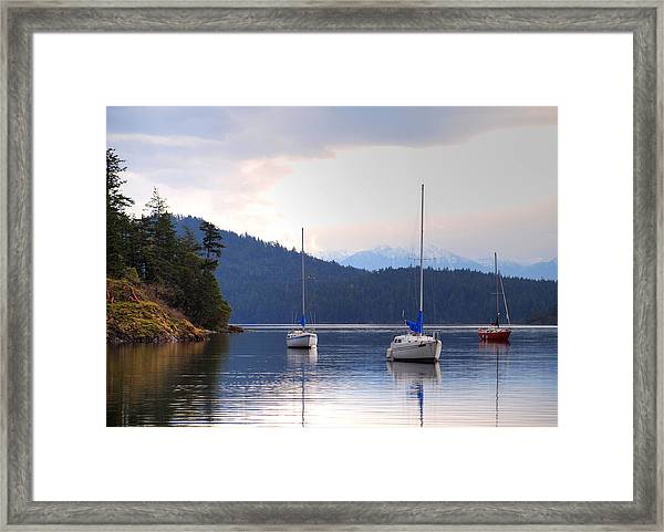 Framed Print featuring the photograph Cooper's Cove 1 by Randy Hall