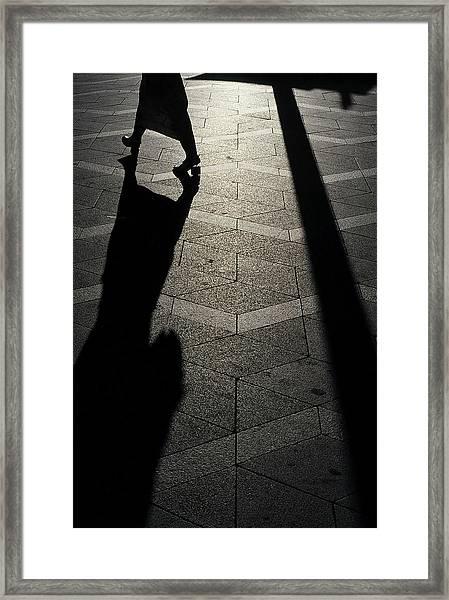 Copenhagen Lady Framed Print