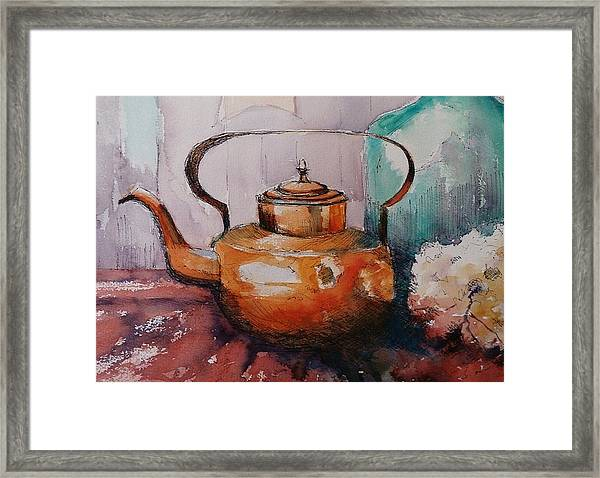 Copper Kettle Framed Print