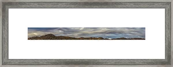 Copycat Clouds Framed Print