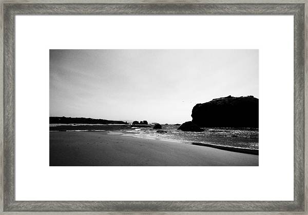 Coquille Point Framed Print