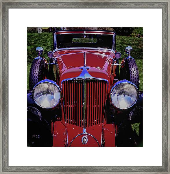 Framed Print featuring the photograph Cord Coupe by Samuel M Purvis III