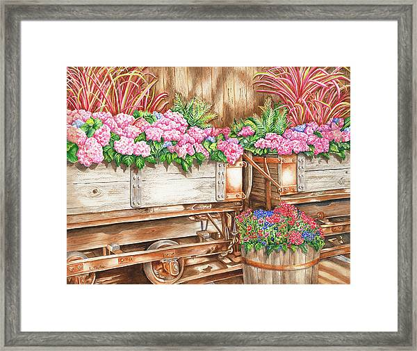 Cordelia's Train Framed Print