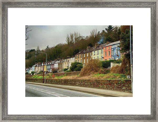 Cork Row Houses Framed Print