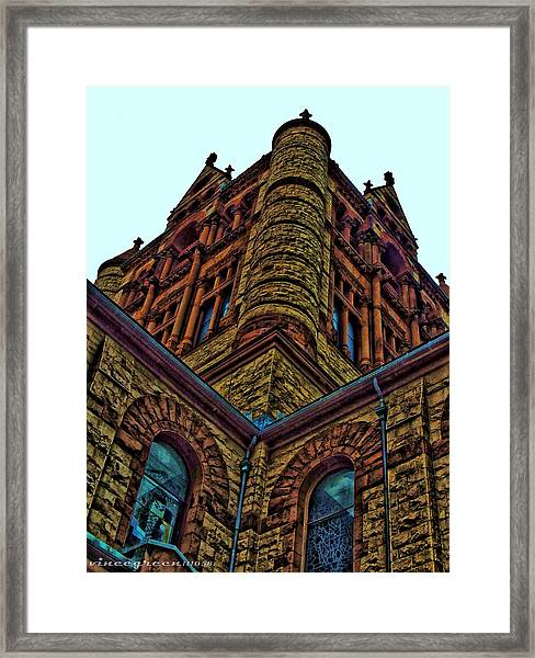 Cornered Framed Print