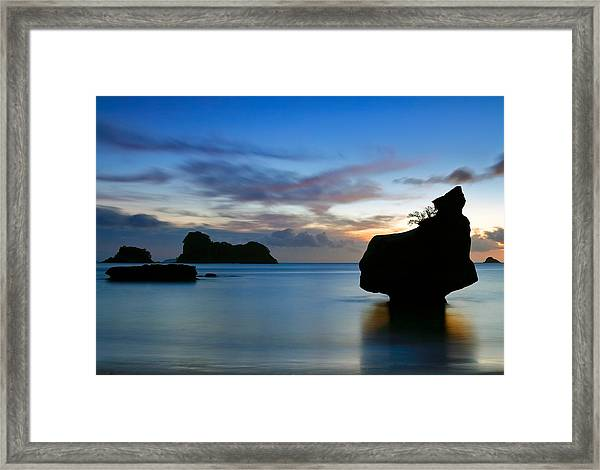Coromandel Dawn Framed Print