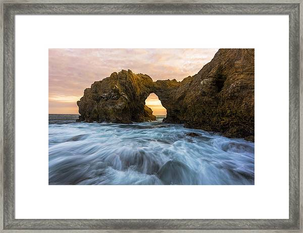 Framed Print featuring the photograph Corona Del Mar by Dustin  LeFevre