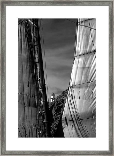 Coronado Island Lighthouse Framed Print