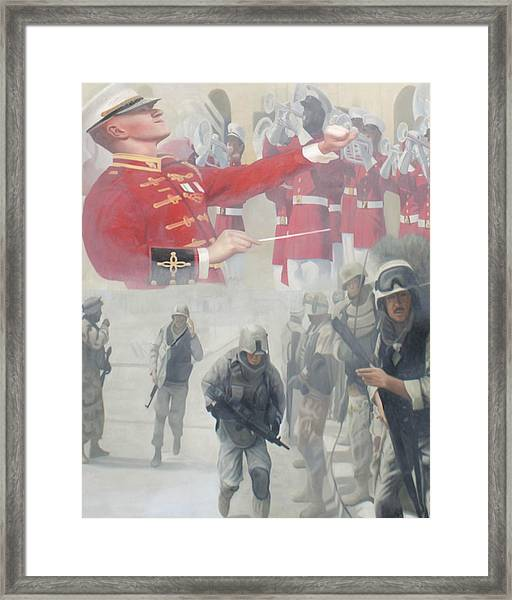 Corpsman Up Framed Print