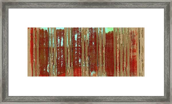 Corrugation Framed Print