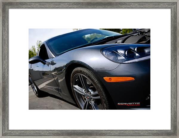 Corvette Racing Framed Print