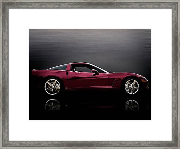 Corvette Reflections Framed Print