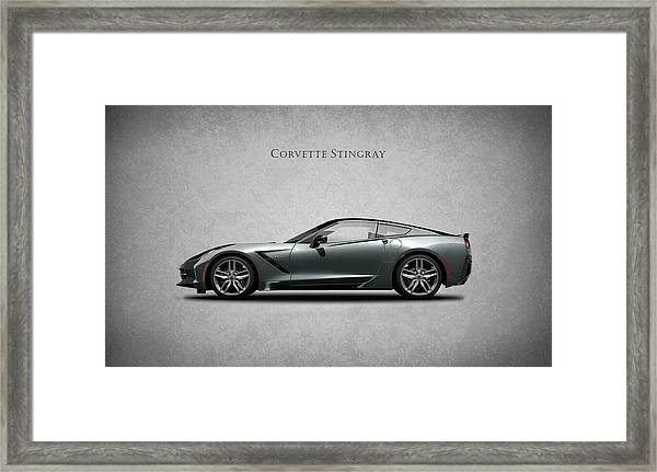 Corvette Stingray Coupe Framed Print