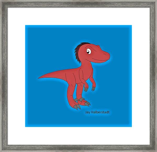Cory Raptor Framed Print