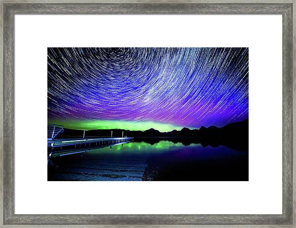 Cosmic-donald Solar Storm Framed Print by Bryan Moore